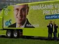 Strana SaS - predvolebná kampaň.