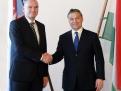 Richard Sulík a maďarský premiér Viktor Orbán.