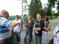 Richard Sulík pri rozhovore s voličmi