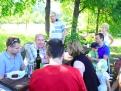 R. Sulík na pikniku s voličmi