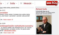 Politika Sulík - Blog SME.sk