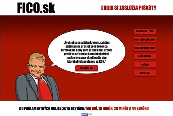 Fico.sk na predaj