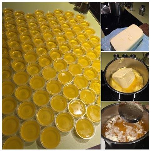 Čírené maslo - recepty
