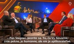 Utečenecká kríza: Európa mimo kontroly? | R. Sulík v politickej talkshow Menschen bei Maischberger