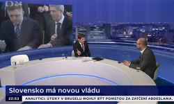 Nová vláda na Slovensku | Richard Sulík vČeskej televízii