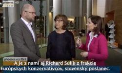 Dohoda medzi EÚ aTureckom | Europarlament – Richard Sulík a Rebecca Harms v interview pre TV Phoenix