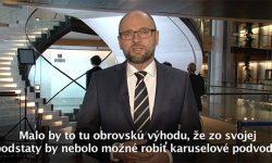 Systém DPH - Europarlament - Sulík