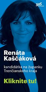 Renáta Kaščáková kandidát na župana Trenčín 2017